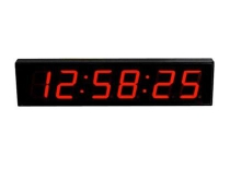 IRIG-B Time Clock Display